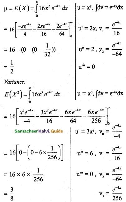 Samacheer Kalvi 12th Maths Guide Chapter 11 Probability Distributions Ex 11.4 16