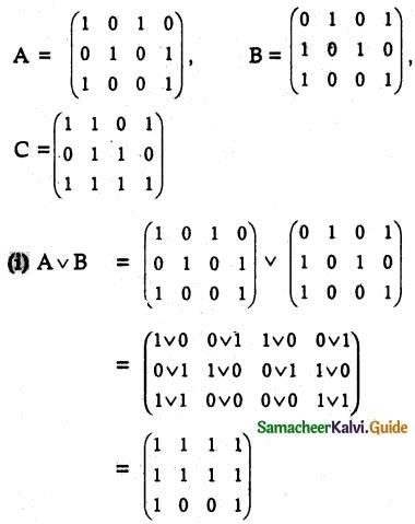 Samacheer Kalvi 12th Maths Guide Chapter 12 Discrete Mathematics Ex 12.1 8