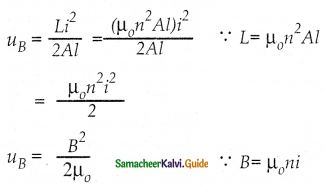 Samacheer Kalvi 12th Physics Guide Chapter 4 Electromagnetic Induction and Alternating Current 23