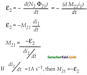 Samacheer Kalvi 12th Physics Guide Chapter 4 Electromagnetic Induction and Alternating Current 26