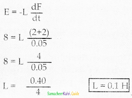 Samacheer Kalvi 12th Physics Guide Chapter 4 Electromagnetic Induction and Alternating Current 4
