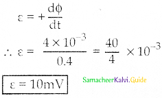 Samacheer Kalvi 12th Physics Guide Chapter 4 Electromagnetic Induction and Alternating Current 47
