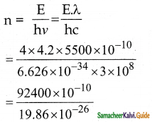 Samacheer Kalvi 12th Physics Guide Chapter 7 Dual Nature of Radiation and Matter 29