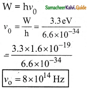Samacheer Kalvi 12th Physics Guide Chapter 7 Dual Nature of Radiation and Matter 39