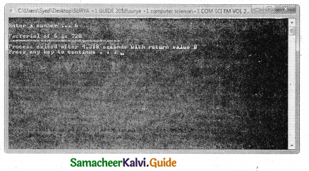 Samacheer Kalvi 11th Computer Science Guide Chapter 10 Flow of Control 36