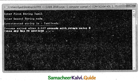 Samacheer Kalvi 11th Computer Science Guide Chapter 11 Functions 4