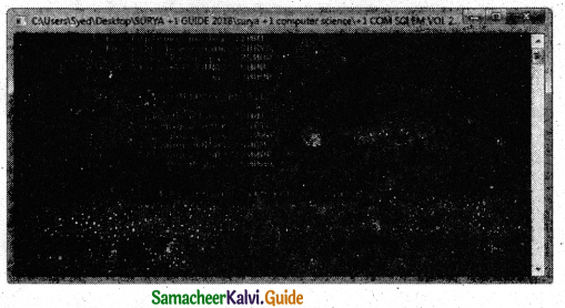 Samacheer Kalvi 11th Computer Science Guide Chapter 14 Classes and Objects 12