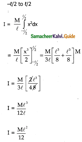 Samacheer Kalvi 11th Physics Guide Chapter 5 Motion of System of Particles and Rigid Bodies 18