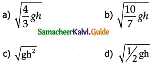 Samacheer Kalvi 11th Physics Guide Chapter 5 Motion of System of Particles and Rigid Bodies 3