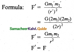 Samacheer Kalvi 11th Physics Guide Chapter 6 Gravitation 35