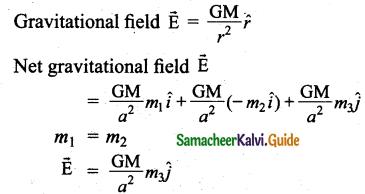 Samacheer Kalvi 11th Physics Guide Chapter 6 Gravitation 44