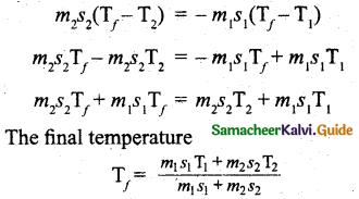 Samacheer Kalvi 11th Physics Guide Chapter 8 Heat and Thermodynamics 17
