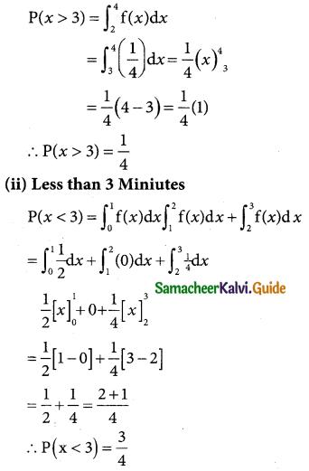 Samacheer Kalvi 12th Business Maths Guide Chapter 6 Random Variable and Mathematical Expectation Ex 6.1 19