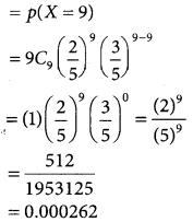 Samacheer Kalvi 12th Business Maths Guide Chapter 7 Probability Distributions Ex 7.1 9