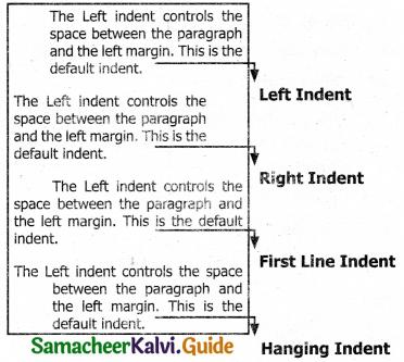 Samacheer Kalvi 11th Computer Applications Guide Chapter 6 Word Processor Basics (OpenOffice Writer) 33
