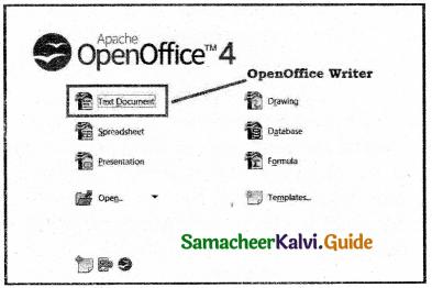 Samacheer Kalvi 11th Computer Applications Guide Chapter 6 Word Processor Basics (OpenOffice Writer) 8