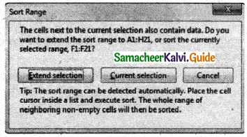 Samacheer Kalvi 11th Computer Applications Guide Chapter 7 Spreadsheets Basics (OpenOffice Calc) 34