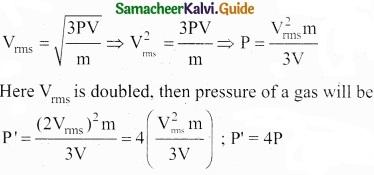 Tamil Nadu 11th Physics Model Question Paper 3 English Medium img 1