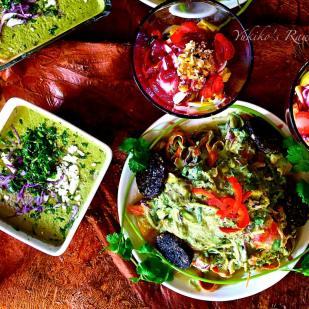 fresh organic meal