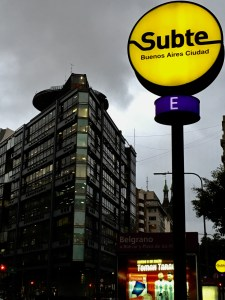The Buenos Aires Subte