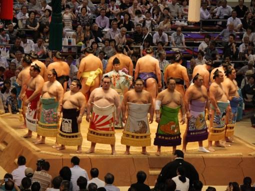 Japan Sumo wrestling
