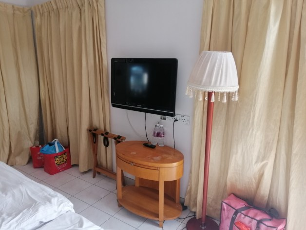 TV set at deluxe room