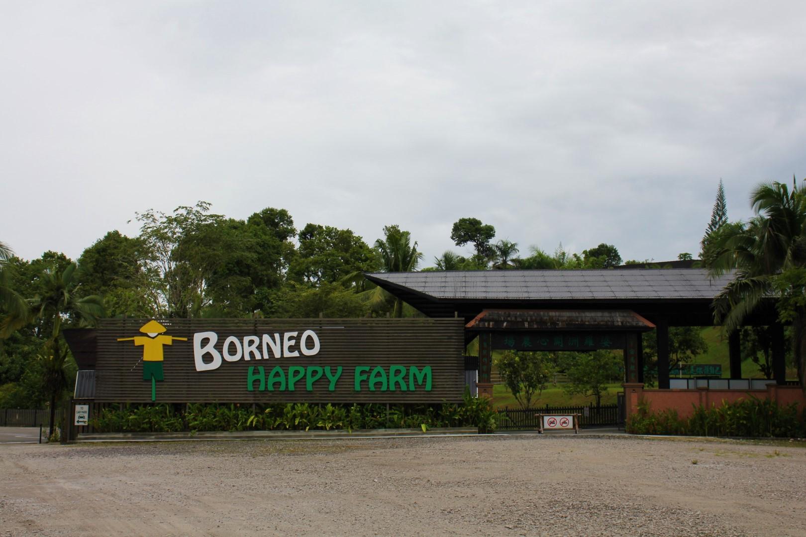 Borneo Happy Farm Entrance