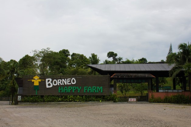 Borneo Happy Farm Entrance