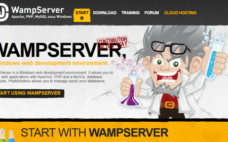 wampserver - develop website on local computer