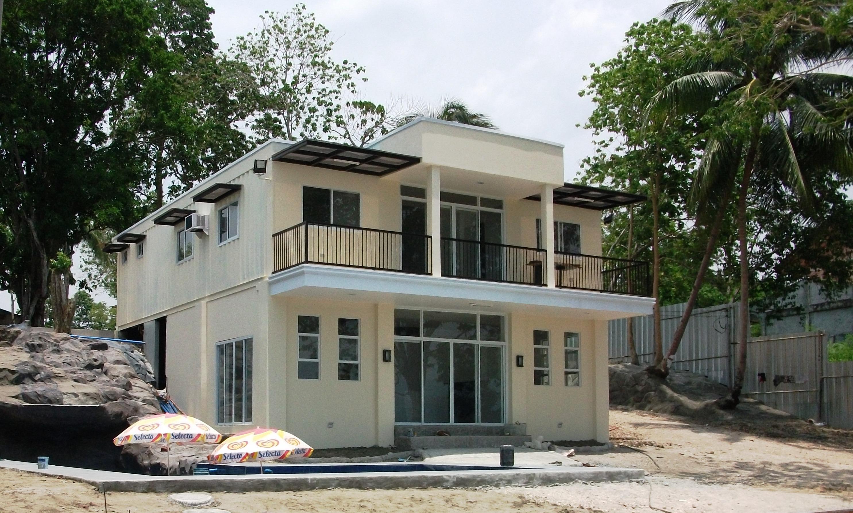 Half Cement Half Amakan House Interior Design Images
