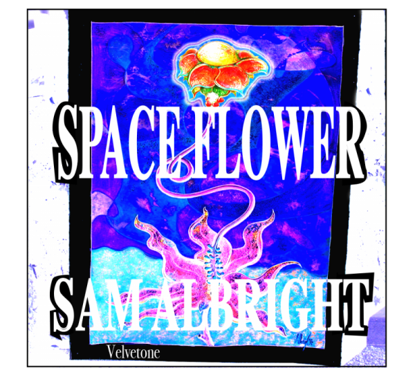 Space Flower CD cover picture