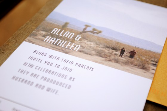 allan kathleen wedding invitations 0695