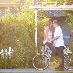 Matt and Amie's bike Engagement Pictures in Orange Circle_0381