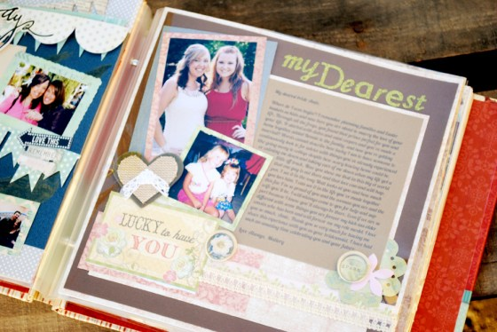 gift for the bride letter scrapbook_0011