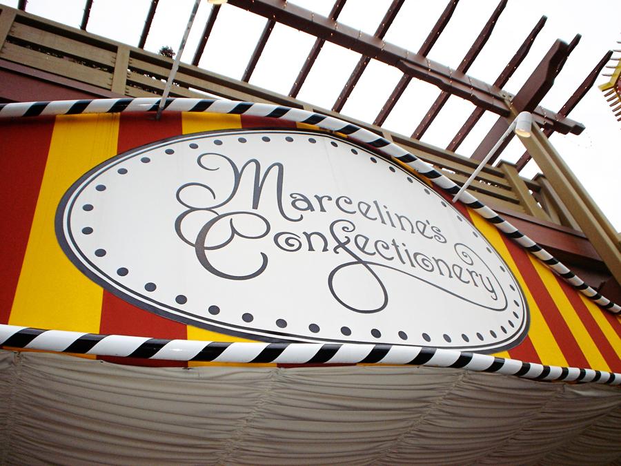 downtown disney marceline's hidden mickey