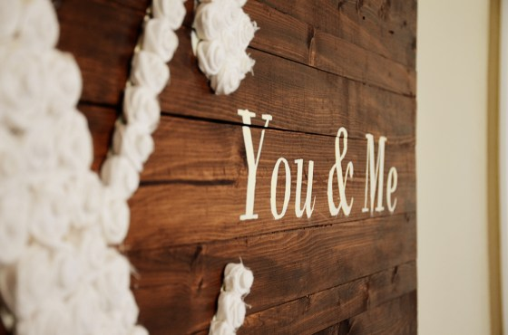 DIY You & Me wall art 48