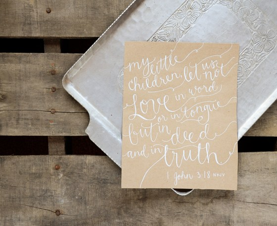 Your New Friend Sam Etsy Whimsical Handwritten Wedding Vows Kraft paper 767