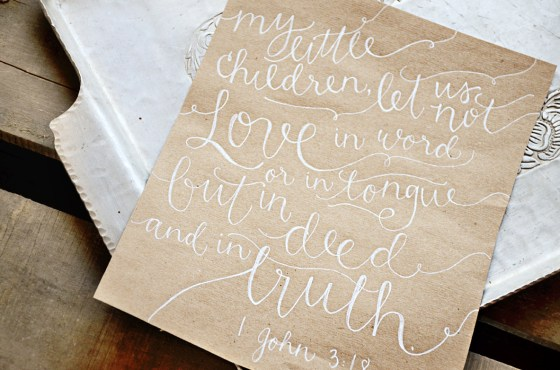 Your New Friend Sam Etsy Whimsical Handwritten Wedding Vows Kraft paper 776