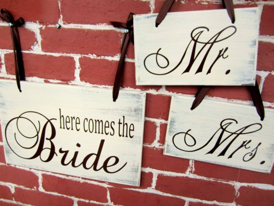 jolie mae wedding signs on etsy