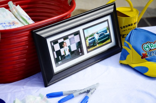 car themed shower party kid photos