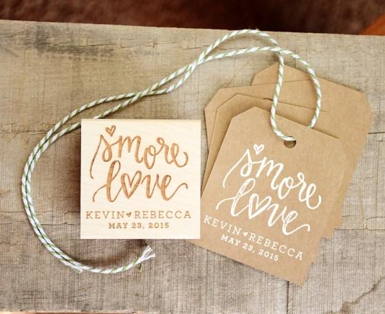 Your New Friend Sam Smore Love Wedding Favor Stamp