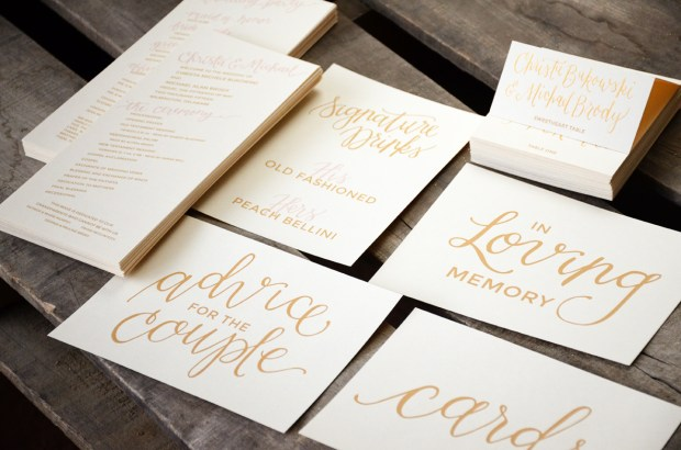 Your New Friend Sam Wedding Programs Tent Cards and Signage