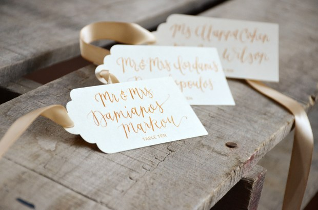 Your New Friend Sam Wedding Calligraphy for Skeleton Key Tags