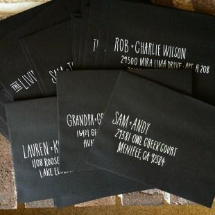 Sam Allen Creates Envelope Addressing