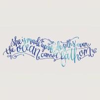 The Oceans Cannot Fathom - LetterItAugust - SamAllenCreates