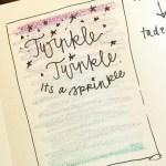 Twinkle Twinkle sketch