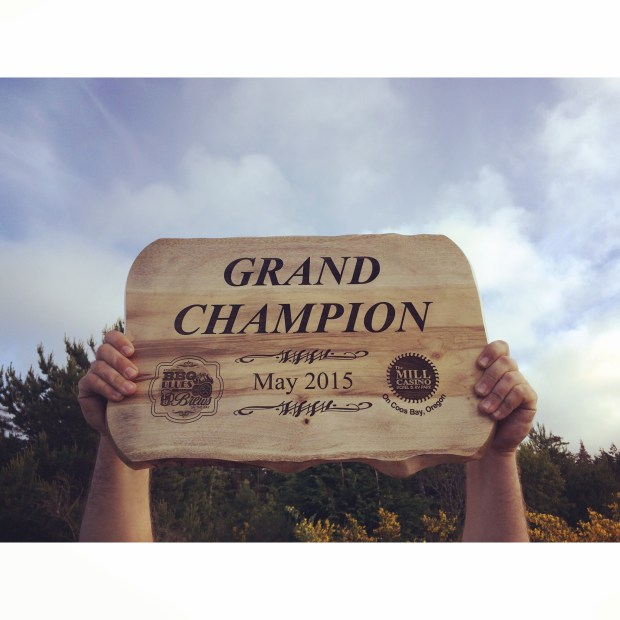 Rooftop Barbeque Grand Champion Oregon 2015