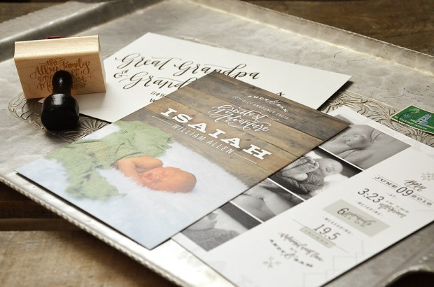 Isaiahs Birth Announcement Suite 2
