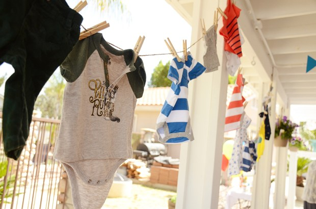 Storybook Baby Shower Clothesline 2