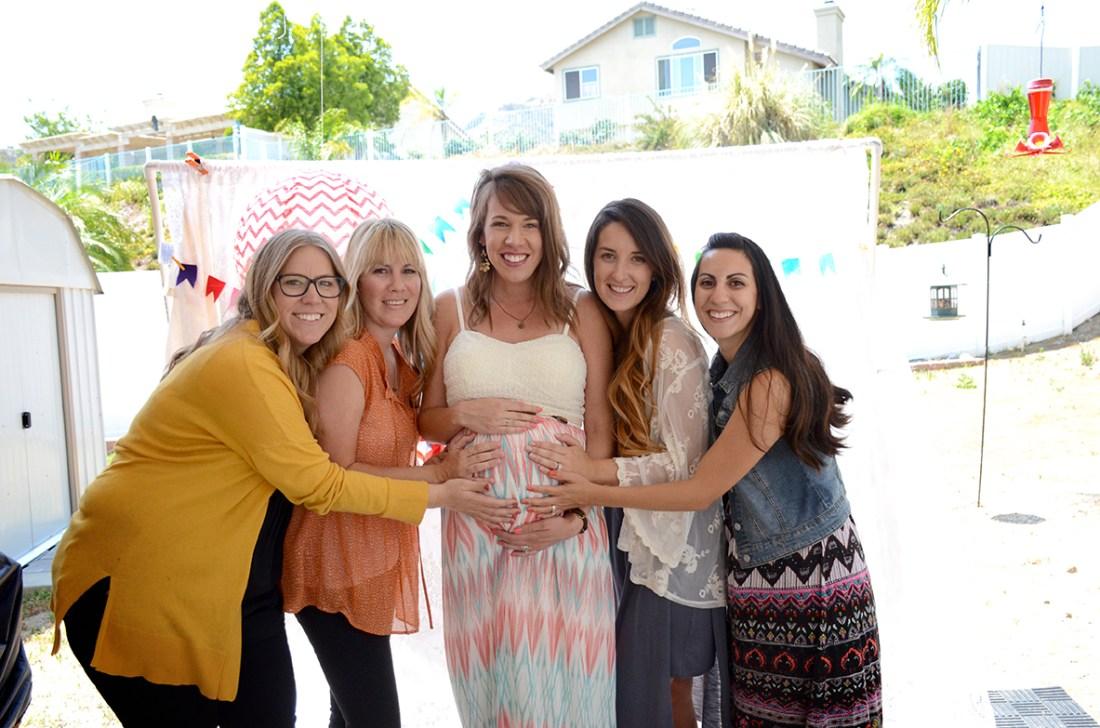 Storybook Baby Shower Friends